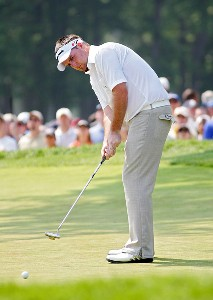 Kenneth Ferrie during the final round of the 2006 U.S. Open Golf Championship at Winged Foot Golf Club in Mamaroneck, New York on June 18, 2006.Photo by Sam Greenwood/WireImage.com