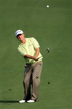 AUGUSTA, GA - APRIL 11:  David Toms hits a shot to the second green during the second round of the 2008 Masters Tournament at Augusta National Golf Club on April 11, 2008 in Augusta, Georgia.  (Photo by Harry How/Getty Images)