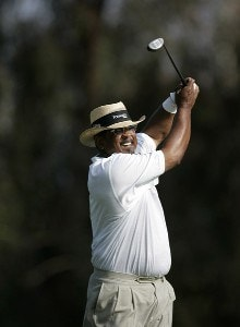 JIm Thorpe in action during the final round of the Champion's Tour 2007 AT&T Champions Classic at the Valencia Country Club in Santa Clarita, California on March 18, 2007. Champions Tour - 2007 AT&T Champions Classic - Final RoundPhoto by Steve Grayson/WireImage.com
