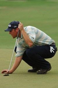 D.A. Points in action during the third round of the Valero Texas Open held at The Resort Course at La Cantera on Saturday, September 23, 2006 in San Antonio, Texas PGA TOUR - 2006 Valero Texas Open - Third RoundPhoto by Marc Feldman/WireImage.com