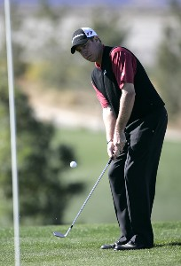 Todd Fischer in action during the second round of the Bob Hope Chrysler Classic held at The Classic Club in Palm Desert, California on Thursday, January 19, 2006.Photo by Sam Greenwood/WireImage.com