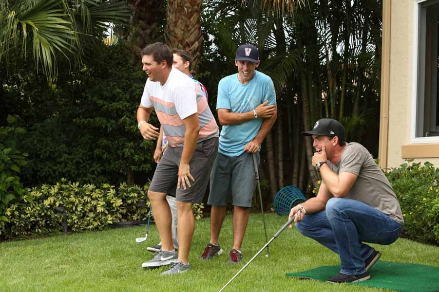 Keegan Bradley and His Friends