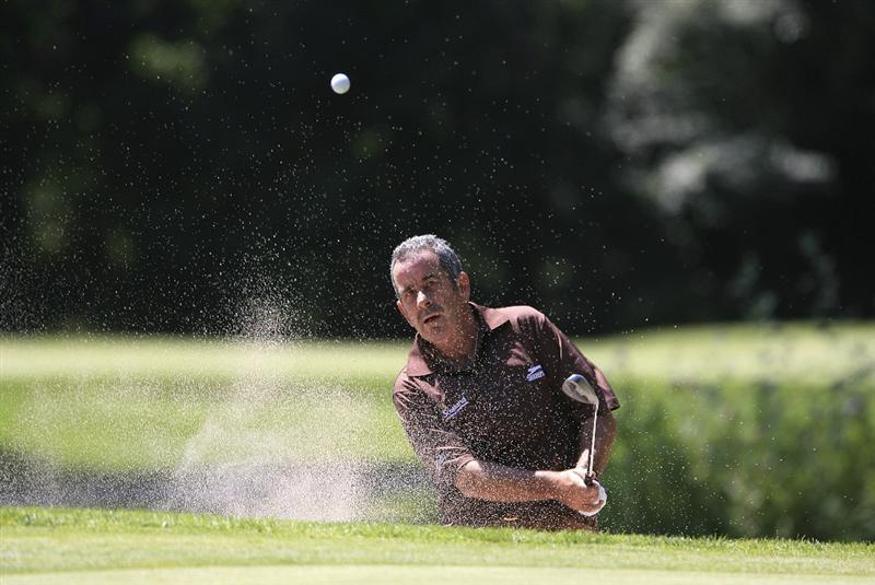 BAD RAGAZ, SWITZERLAND - AUGUST 08:  Sam Torrance of Scotland in action on the 6th hole during the first round of the Bad Ragaz PGA Seniors Open played at Grand Resort Bad Ragaz on August 8, 2008 in Bad Ragaz, Switzerland.  (Photo by Phil Inglis/Getty Images)