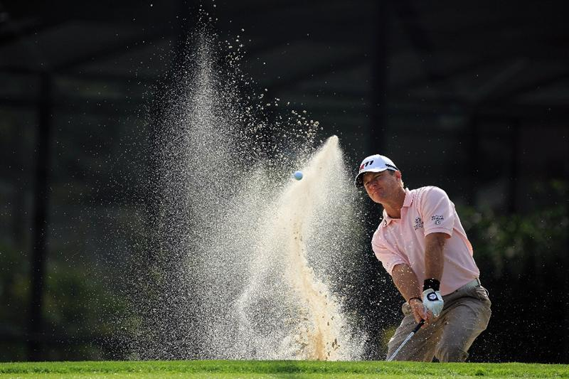 ORLANDO, FL - MARCH 24:  Scott Verplank of the USA plays his third shot at the 15th hole during the first round of the 2011 Arnold Palmer Invitational presented by Mastercard at the Bay Hill Lodge and Country Club on March 24, 2011 in Orlando, Florida.  (Photo by David Cannon/Getty Images)