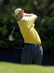 Rod Pampling tees off the 2nd hole during the third round of the Bank of America Colonial held at the Colonial Country Club on Saturday , May 20, 2006 in Ft. Worth, TexasPhoto by Marc Feldman/WireImage.com