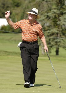 Tom Kite during the third round of the JELD-WEN Tradition at The Reserve Vineyards & Golf Club in Aloha, Oregon on Saturday, August 26, 2006.Photo by Steve Levin/WireImage.com