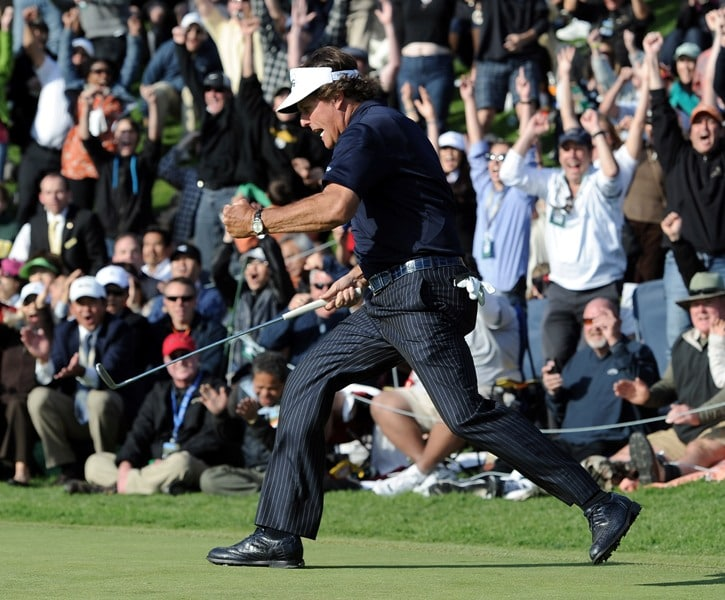 Phil Mickelson at the 2012 Northern Trust Open