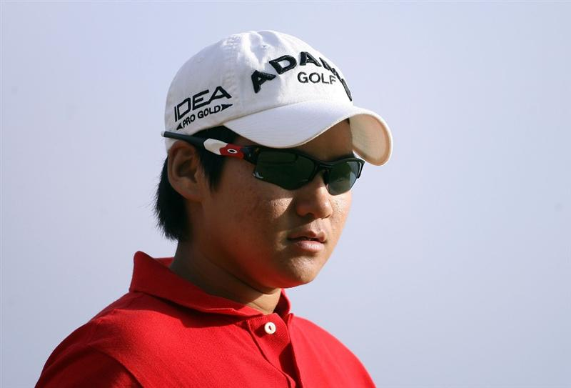 KAHUKU, HI - FEBRUARY 12:  Yani Tseng of Taiwan is pictured on the 3rd hole during the first round of the SBS Open on February 12, 2009  at the Turtle Bay Resort in Kahuku, Hawaii.  (Photo by Andy Lyons/Getty Images)