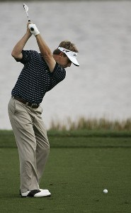 David Toms during the second round of the Honda Classic on the Champion Course at PGA National in Palm Beach Gardens, Florida on Friday, March 2, 2007. PGA TOUR - The 2007 Honda Classic - Second RoundPhoto by Sam Greenwood/WireImage.com