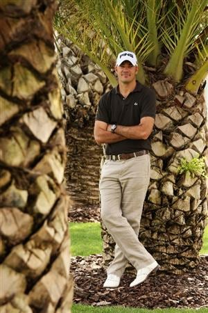 SEVILLE, SPAIN - MARCH 25:  Gregory Havret of France poses for a portrait before the start of the Open de Andalucia at Real Club de Golf de Seville Club on March 25, 2009 in Seville, Spain.  (Photo by Warren Little/Getty Images)