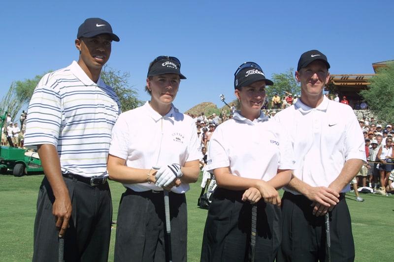 Tiger Woods, Annika Sorenstam, Karrie Webb, David Duval