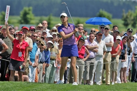 MUNICH, GERMANY - JUNE 01:  Michelle Wie of the USA is seen during the final round of the Hypo Vereinsbank Ladies German Open Golf at Golfpark Gut Hausern on June 01, 2008 near Munich, Germany.  (Photo by Thomas Niedermueller/Getty Images)