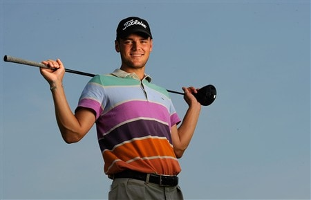 AKRON, OH - JULY 29:  Martin Kaymer of Germany poses prior to the WGC-Bridgestone Invitational on the South Course at Firestone Country Club on July 29, 2008 in Akron, Ohio.  (Photo by Sam Greenwood/Getty Images)