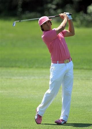 ORLANDO, FL - MARCH 26:  Rickie Fowler of the USA plays his second shot at the 1st hole during the third round of the 2011 Arnold Palmer Invitational presented by Mastercard at the Bay Hill Lodge and Country Club on March 26, 2011 in Orlando, Florida.  (Photo by David Cannon/Getty Images)