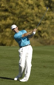 Jerry Smith  in action during the third  round of the FBR Open  at the TPC Players Course  on Photo by Marc Feldman/WireImage.com