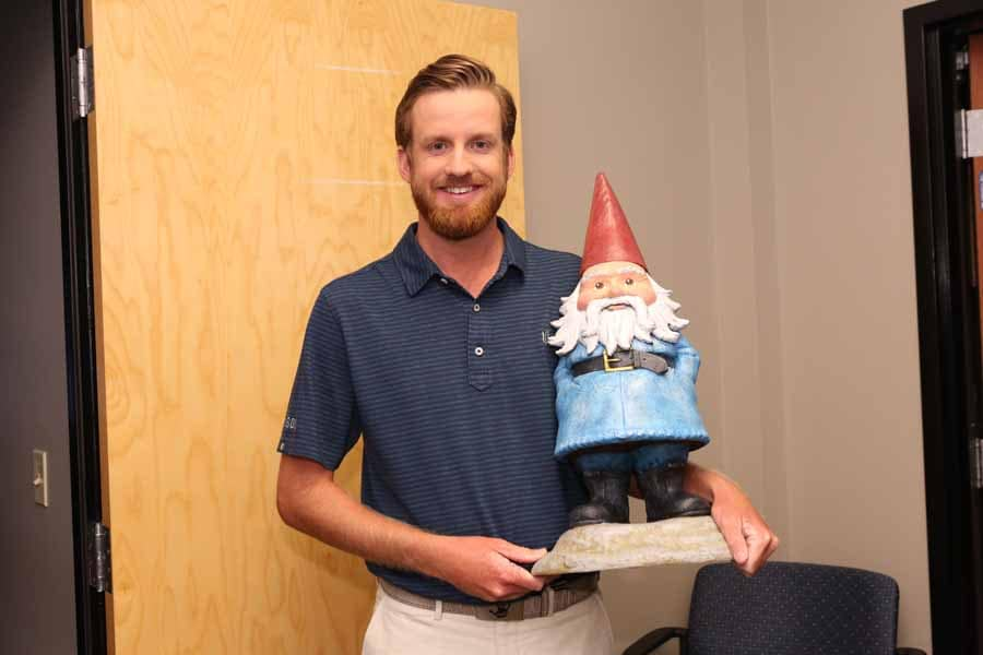 Matt Galloway and the Travelocity Gnome
