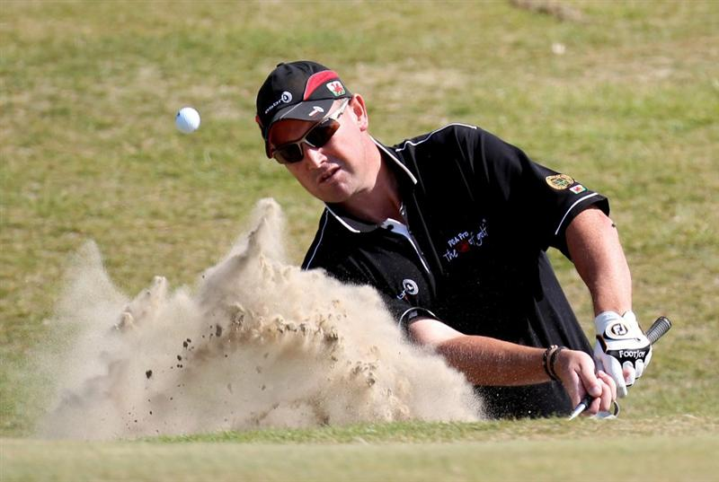 HARLECH, WALES - SEPTEMBER 02:  Andrew Barnett of North Wales Golf Range during the final round of the RCW2010 Welsh National PGA Championship at the Royal St. David's Golf Club on September 2, 2010 in Harlech, Wales.  (Photo by Ross Kinnaird/Getty Images)