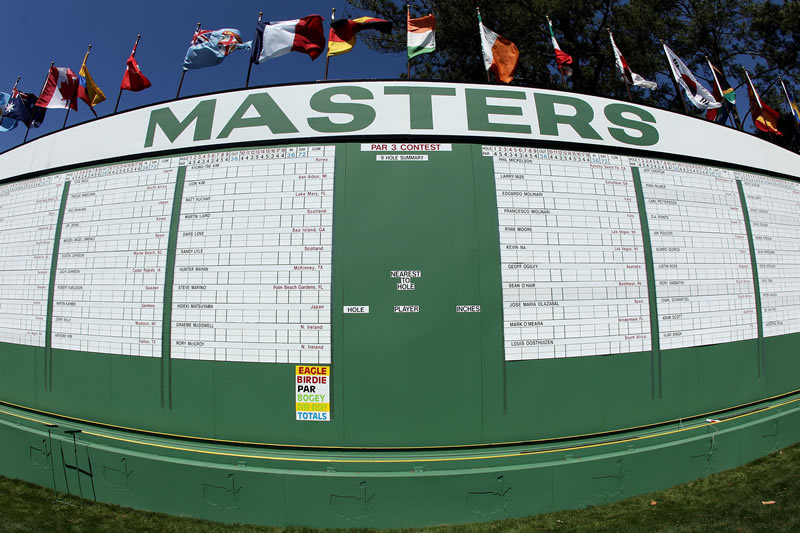 2011 Masters Tournament