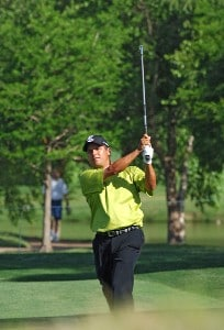 Omar Uresti during the second round of the EDS Byron Nelson Championship held at the TPC Players Course and the Cottonwood Valley Course on Friday, May 12, 2006 in Irving, TexasPhoto by Marc Feldman/WireImage.com