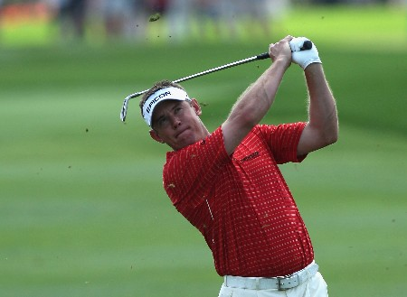 ORLANDO, FL - MARCH 15:  Lee Westwood of England hits his second shot to the 1st hole during the third round of the 2008 Arnold Palmer Invitational presented by MasterCard at the Bay Hill Golf Club and Lodge, on March 15, 2008 in Orlando, Florida.  (Photo by David Cannon/Getty Images)