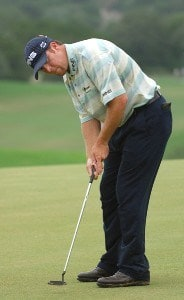 D.A. Points in action during the third round of the Valero Texas Open held at The Resort Course at La Cantera on Saturday, September 23, 2006 in San Antonio, Texas. PGA TOUR - 2006 Valero Texas Open - Third RoundPhoto by Marc Feldman/WireImage.com