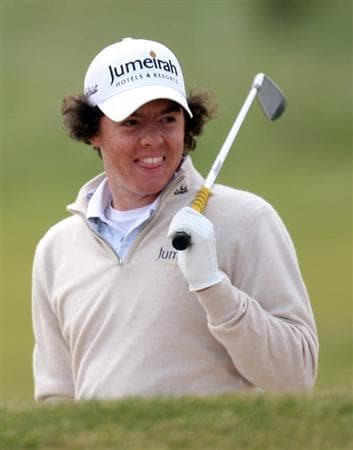 BALTRAY, IRELAND - MAY 13:  Rory McIlroy of Northern Ireland during the Pro-Am prior to the start of The 3 Irish Open at County Louth Golf Club on May 13, 2009 in Baltray, Ireland.  (Photo by Ross Kinnaird/Getty Images)