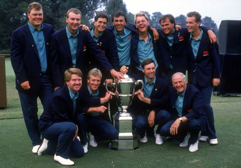 Great Britain and Ireland, 1989 Walker Cup