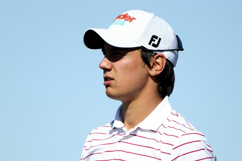 MARANA, AZ - FEBRUARY 23:  Matteo Manassero of Italy looks on during the first round of the Accenture Match Play Championship at the Ritz-Carlton Golf Club on February 23, 2011 in Marana, Arizona.  (Photo by Andy Lyons/Getty Images)