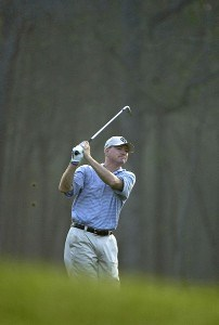 Steve Flesch In action during the frist round of the Shell Houston Open at the Redstone Golf Club,Tournament Course, Humble, Texas, on Thursday, April 20, 2006Photo by Marc Feldman/WireImage.com