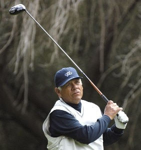 Lee Trevino in action during the first round of the 2006 AT&T Classic on Friday, March 10, 2006 at  Valencia Country Club in Valencia, CaliforniaPhoto by Marc Feldman/WireImage.com
