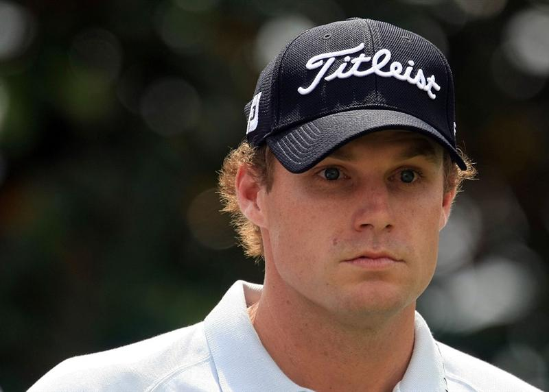 ORLANDO, FL - MARCH 28:  Nick Watney waits on the second tee during the third round of the Arnold Palmer Invitational at the Bay Hill Club & Lodge on March 28, 2009 in Orlando, Florida.  (Photo by Scott Halleran/Getty Images)