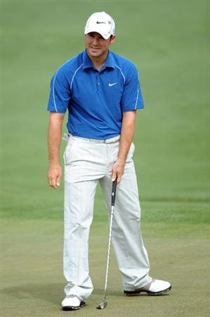 AUGUSTA, GA - APRIL 10:  Trevor Immelman of South Africa waits on the second green during the second round of the 2009 Masters Tournament at Augusta National Golf Club on April 10, 2009 in Augusta, Georgia.  (Photo by Harry How/Getty Images)