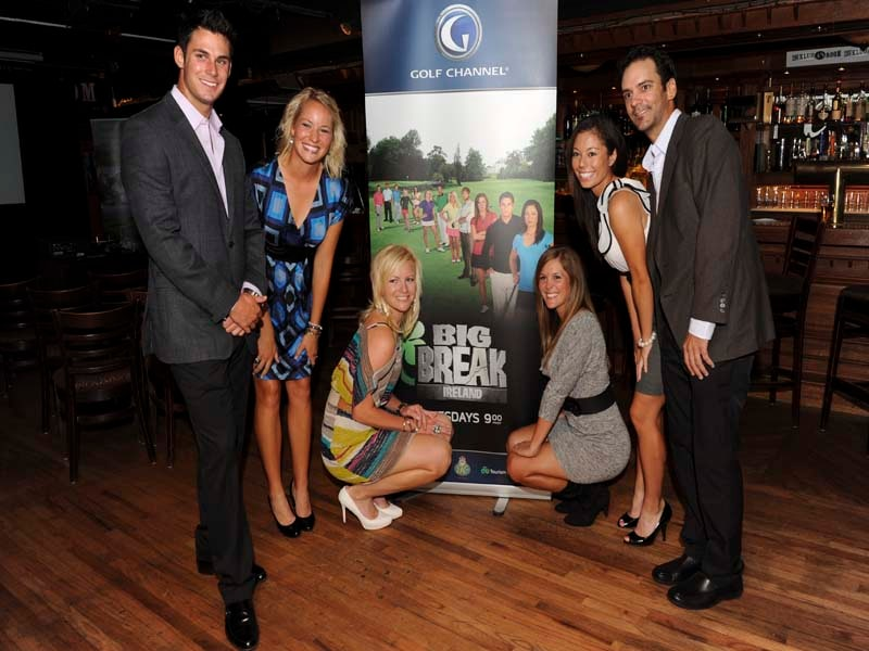 Big Break Ireland Premiere Party, Julien Trudeau, Nicole Smith, Kelly Jacques, Mallory Blackwelder, Bennett Maki and Annie Brophy