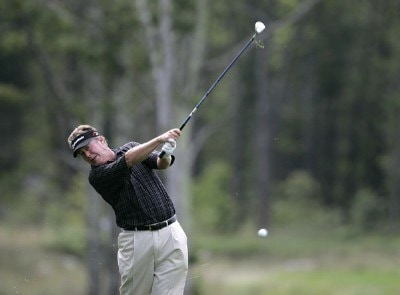 Michael Allen during the first round of the 2006 Deutsche Bank Championship held at TPC Boston in Norton, Massachusetts on September 1, 2006.Photo by Michael Cohen/WireImage.com