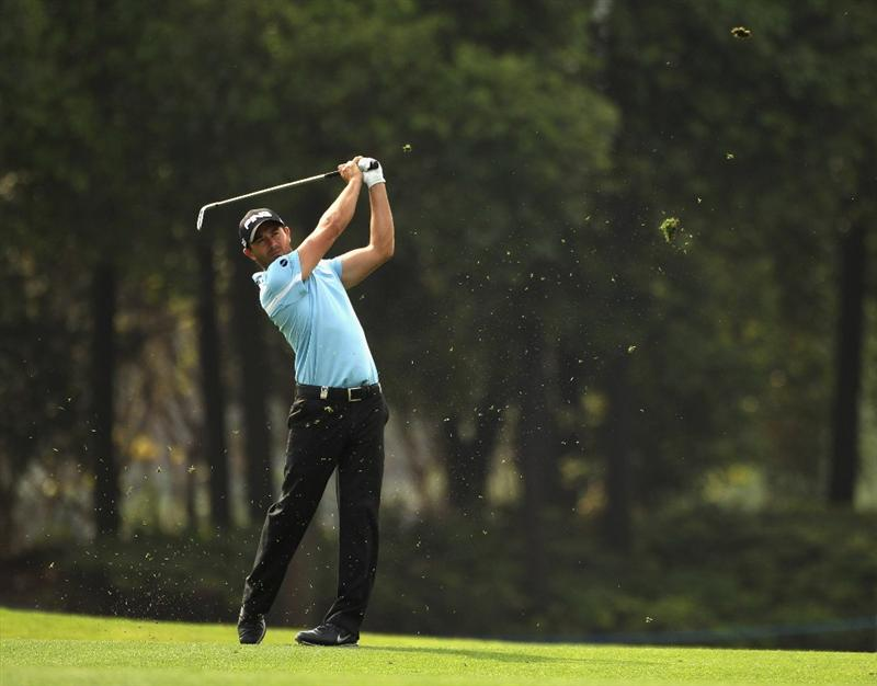 CHENGDU, CHINA - APRIL 22:  Gareth Maybin of Northern Ireland in action during day two of the Volvo China Open at Luxehills Country Club on April 22, 2011 in Chengdu, China.  (Photo by Ian Walton/Getty Images)