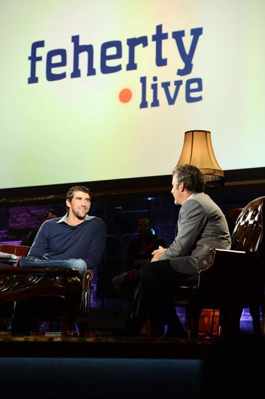Michael Phelps; Feherty Live