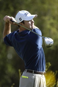 James Driscoll in action during the first round of the FBR Open  at the TPC Players Course  on Photo by Marc Feldman/WireImage.com