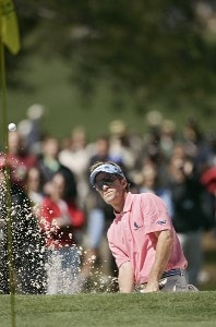 Brett Quigley during the second round of the 2007 Masters at the Augusta National Golf Club in Augusta,  Georgia, on April 6, 2007. The 2007 Masters - Second RoundPhoto by Sam Greenwood/WireImage.com