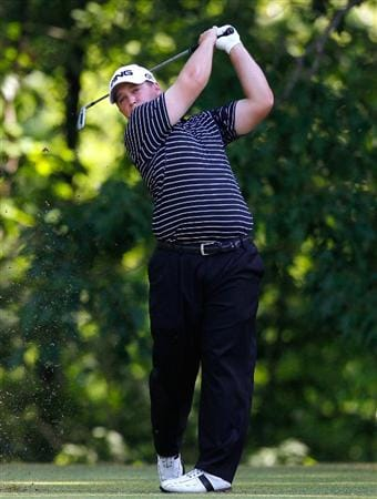 ATHENS, GA - APRIL 29:  Daniel Summerhays tees off the sixth hole during the first round of the 2010 Stadion Athens Classic at the University of Georgia Golf Course on April 29, 2010 in Athens, Georgia.  (Photo by Kevin C. Cox/Getty Images)
