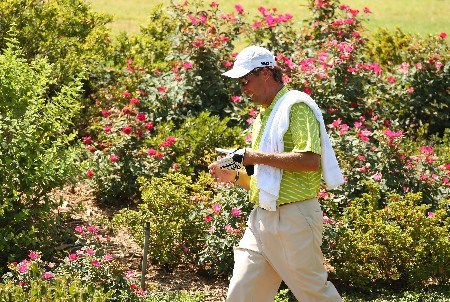TULSA, OK - AUGUST 12:  Stephen Ames of Canada walks off the third tee during the final round of the 89th PGA Championship at the Southern Hills Country Club on August 12, 2007 in Tulsa, Oklahoma.  (Photo by Stuart Franklin/Getty Images)