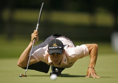 Camilo Villegas during the first round of the US Bank Championship being held at Brown Deer Park on July 19, 2007 in Milwaukee, Wisconsin. PGA TOUR - U.S. Bank Championship in Milwaukee - First RoundPhoto by Mike Ehrmann/WireImage.com