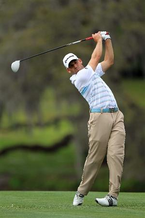 ORLANDO, FL - MARCH 26:  Sergio Garcia of Spain plays his third shot at the 15th hole during the third round of the 2011 Arnold Palmer Invitational presented by Mastercard at the Bay Hill Lodge and Country Club on March 26, 2011 in Orlando, Florida.  (Photo by David Cannon/Getty Images)