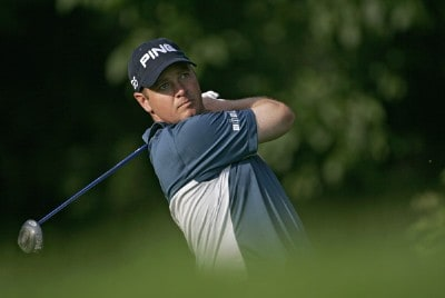 Ted Purdy during practice for the 2006 U.S. Open Golf Championship held at Winged Foot Golf Club in Mamaroneck, New York on June 14, 2006