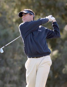 Billy Andrade on the par three third hole during the second round of the Bob Hope Chrysler Classic at La Quinta Country Club on Thursday, January 19, 2006 in La Quinta, CaliforniaPhoto by Marc Feldman/WireImage.com