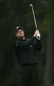 Joe Durant during the third round of the Chrysler Classic of Greensboro at Forest Oaks Country Club in Greensboro, North Carolina on October 7, 2006. PGA TOUR - 2006 Chrysler Classic of Greensboro - Third RoundPhoto by Michael Cohen/WireImage.com