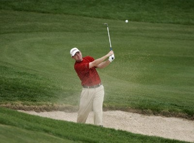 Troy Matteson during the second round at the BellSouth Classic at TPC Sugarloaf in Duluth, Georgia, on March 31, 2006.Photo by: Stan Badz/WireImage