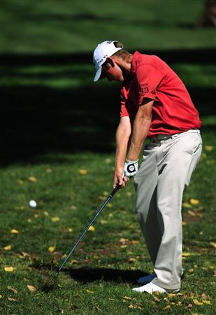 SAN JACINTO, CA - OCTOBER 01:  Andrew Buckle of Australia during the first round of the 2009 Soboba Classic at The Country Club at Soboba Springs on October 1, 2009 in San Jacinto, California.  (Photo by Robert Laberge/Getty Images)