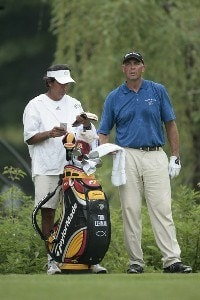 Tom Lehman during the first round of the Memorial Tournament Presented by Morgan Stanley held at Muirfield Village Golf Club in Dublin, Ohio, on May 31, 2007. Photo by: Chris Condon/PGA TOURPhoto by: Chris Condon/PGA TOUR