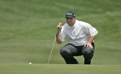 Chris Smith during the second round at the BellSouth Classic at TPC Sugarloaf in Duluth, Georgia, on March 31, 2006.Photo by: Stan Badz/WireImage
