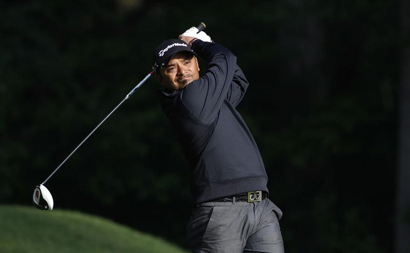 ATHENS, GA - MAY 06:  Rahil Gangjee of India hits a drive during the second round of the Stadion Classic at UGA held at the University of Georgia Golf Course on May 6, 2011 in Athens, Georgia.  (Photo by Michael Cohen/Getty Images)